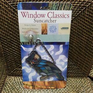 Owl Window Suncatcher Stained Glass